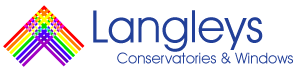 Langley Conservatories & Windows Sticky Logo