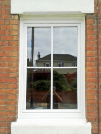 White Tilt and Turn Window
