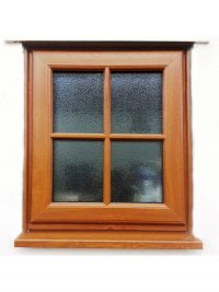 Wood Grain Effect UPVc Window