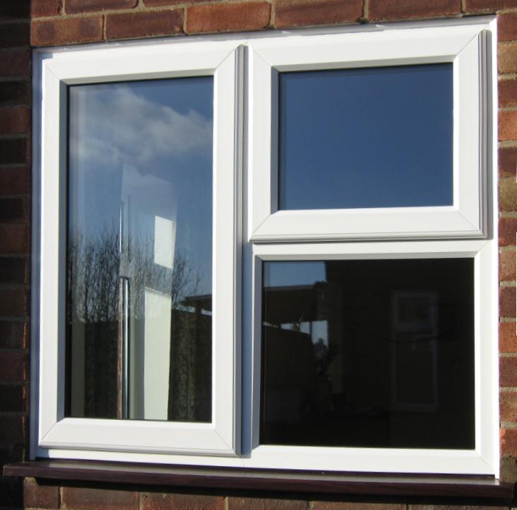 UPVc Smooth white-sculptured profile